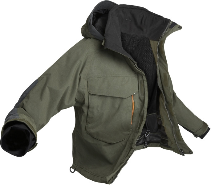 Geoff Anderson - bunda do pása WS 4 ( zeleno - čierna ) - Športové ... a873c6ceb86