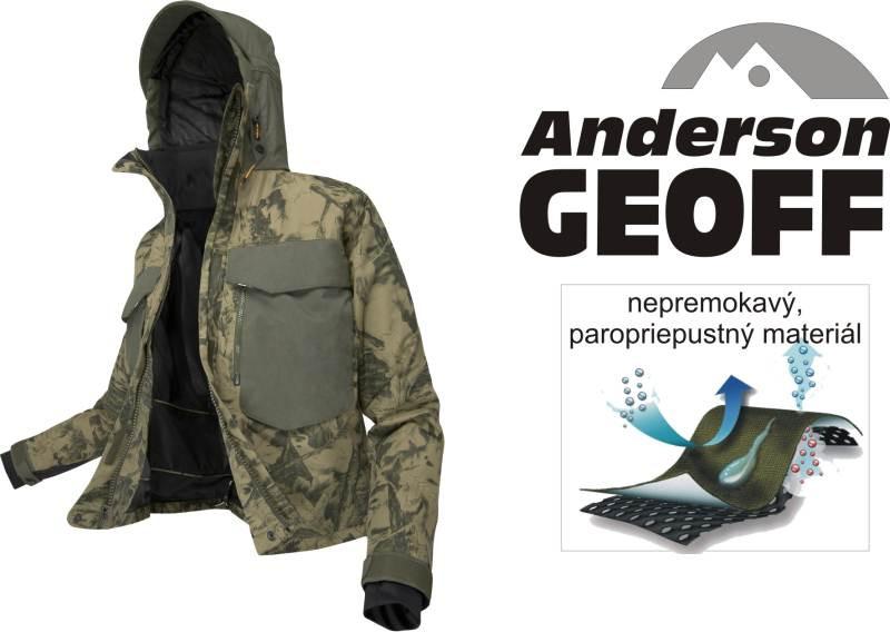 Bunda Geoff Andreson - Brodiaca WS 5 maskáč - Športové b25ac2a6535