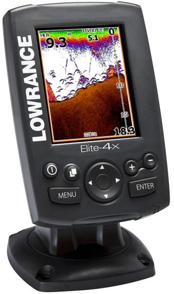 Основные характеристики Lowrance Elite-4x CHIRP